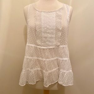 Maeve Clipdot Tunic Tank from Anthropologie